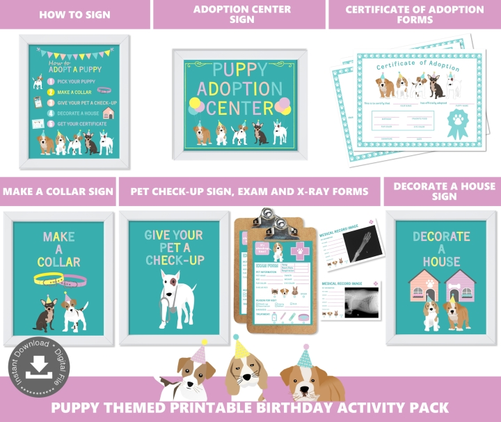 Puppy Adoption Station Package